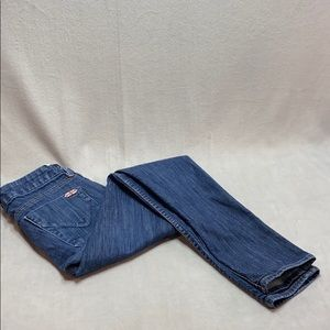 Hudson medium wash blue jeans size 24